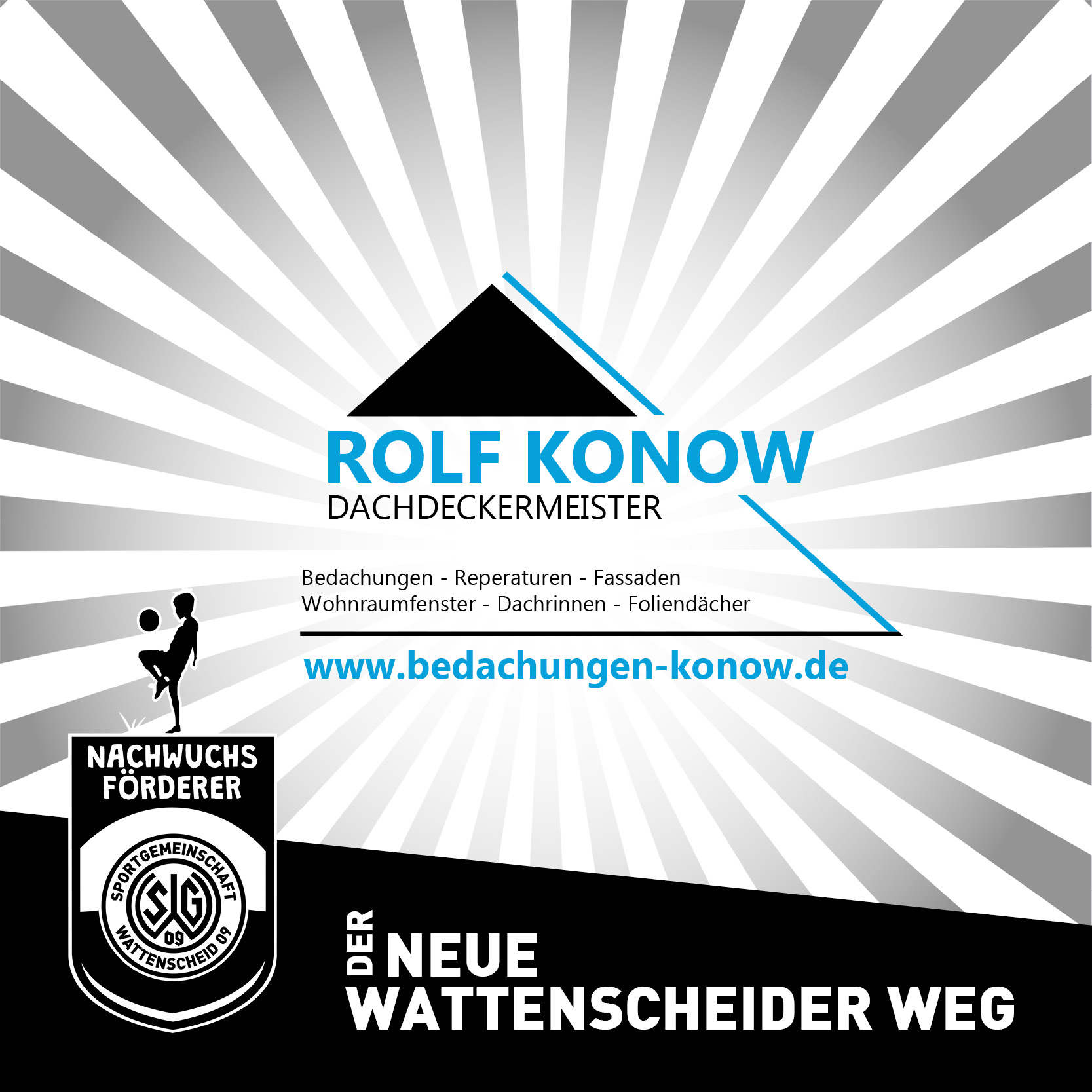 Nachwuchsförderer Rolf Konow