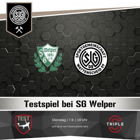 Testspiel SG Welper