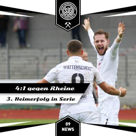 Sieg gegen Rheine