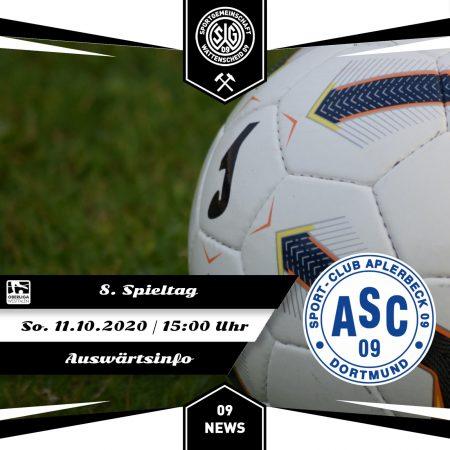 ASC 09 Dortmund Auswärts