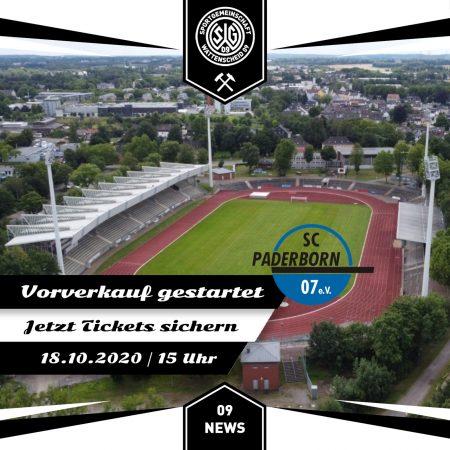 Vorverkauf Paderborn U21
